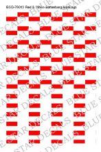 Red & White Battenberg Markings